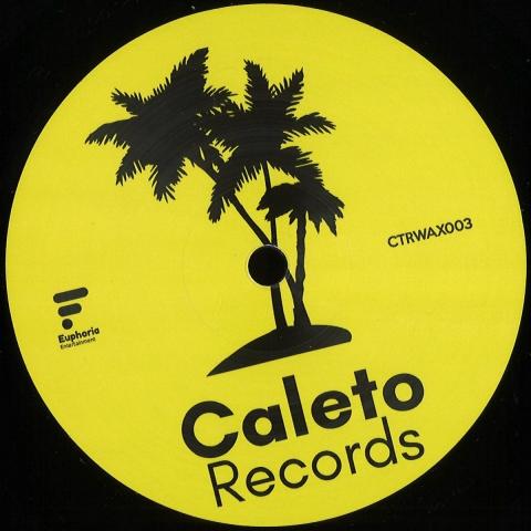 "( CTRWAX 003 ) PAWLESCU - Ether EP (12"") Caleto"