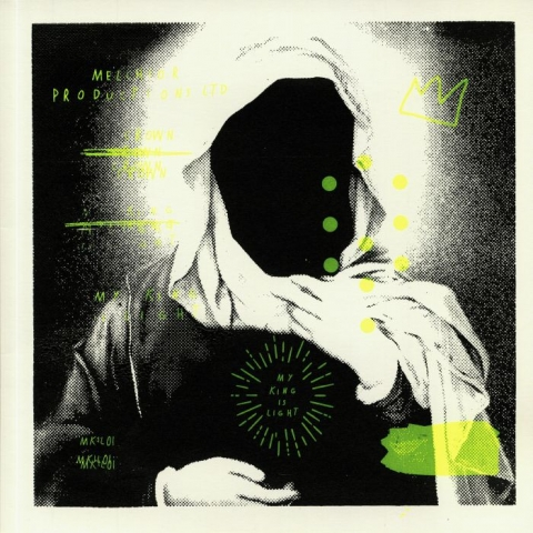 """( MKIL 001 ) MELCHIOR PRODUCTIONS LTD - Crown (12"""" in screen-printed sleeve) My King Is Light Germany"""