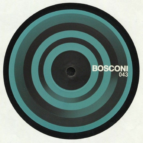 "( BOSCONI 043 ) Gareth OXBY presents 4TH PLANET SIDE STEPPERS Warning (12"") Bosconi Italy"