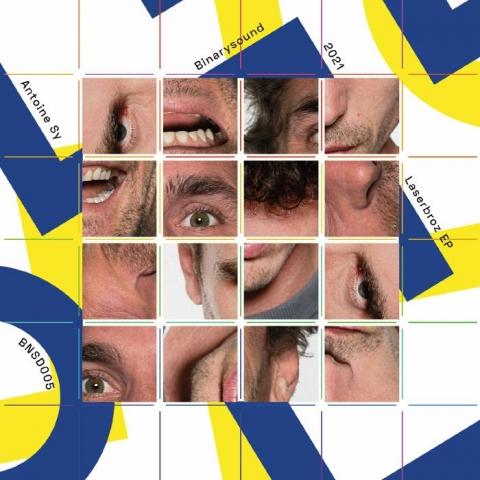 "( BNSD 005 ) Antoine SY - Laserbroz EP (12"") BinarySound"