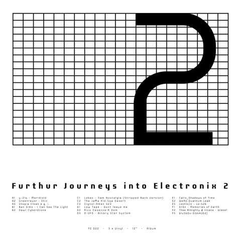 ( FE 022 ) Various – Furthur Journeys Into Electronix 2 (3×12″)  Furthur Electronix