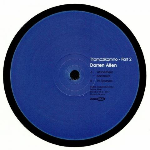 "( Discobar 06.2 ) Darren ALLEN - Triamazikamno Part 2 12"" - Discobar"