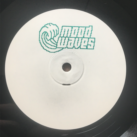 "( MW 002 ) VARIOUS ARTISTS - Cave Waves Ep (White handstampd 12"") Mood Waves"