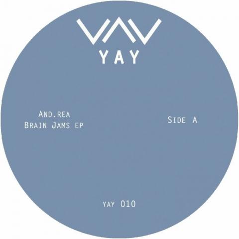 "( YAY 010 ) AND REA - Brain Jams EP (12"") Yay"