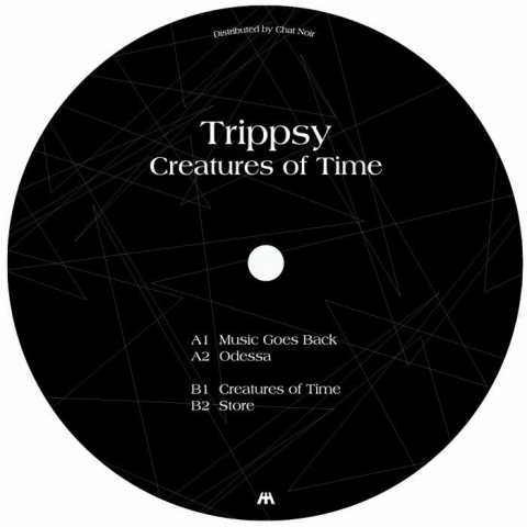 "( HPNHS 003 ) TRIPPSY - Creatures Of Time (12"") Hypnohouse Ukraine"