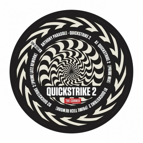 "( COR 19 ) Anthony PARASOLE - Quickstrike 2 (12"") The Corner US"