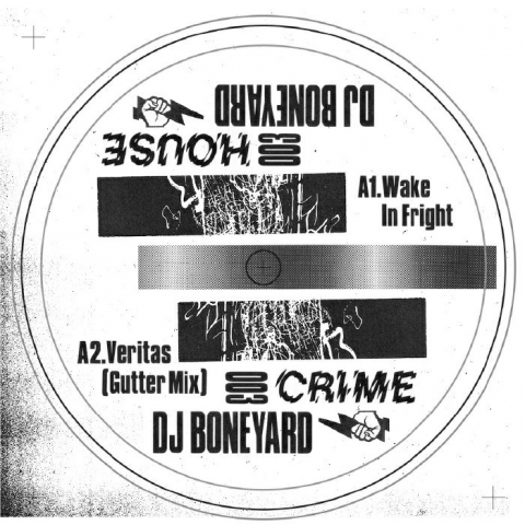 "(  HC 003 ) DJ BONEYARD - House Crime Vol 3 ( 140 gram vinyl 12"" ) House Crime"