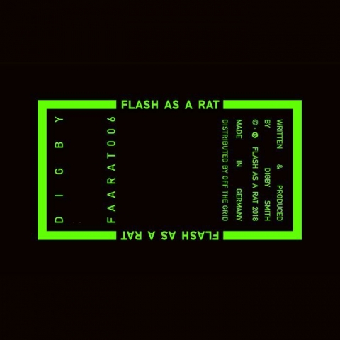 "( FAARAT 006 ) DIGBY - FAARAT 006 (12"") Flash As A Rat"