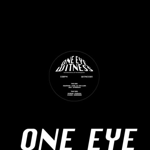 """( WITNESS 01 ) HEAR ThuG, SOHRAB, JEKU & COUSIN - WITNESS01 (12"""") One Eye Witness"""