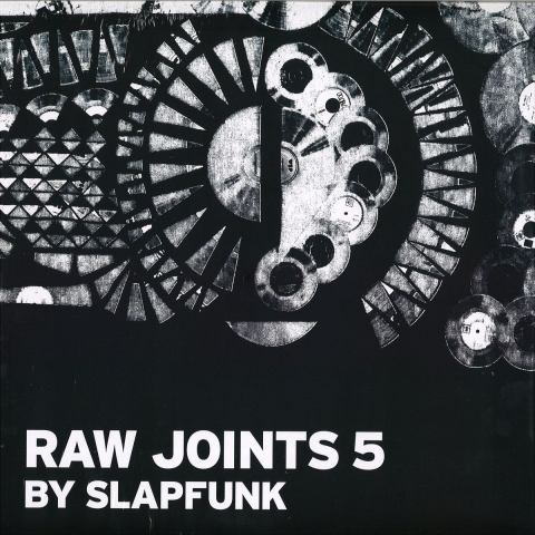 "(  SLPFNK 014 ) VARIOUS - Raw Joints #5 (140 gram triple 12"") SlapFunk Netherlands"