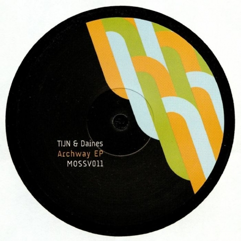 """( MOSSV 011 ) TIJN / DAINES - Archway EP (12"""") Moss Co"""