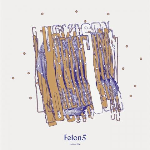 "( LUCKISON 004 ) FELON5  -LUCKISON 004 (12"") LuckIsOn Slovenia Cat:"