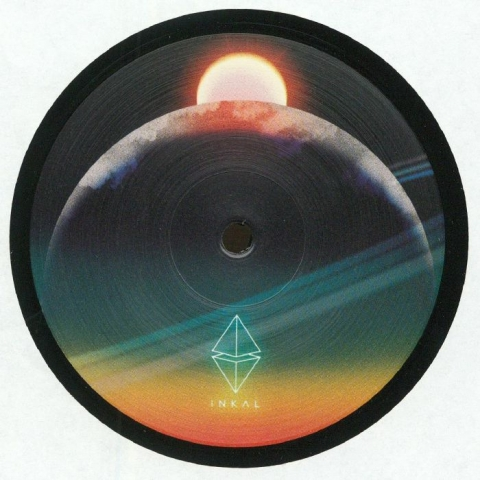 "( INKAL 004 ) Ben RAU - Systeme Solaire (12"") Inkal Music Germany"