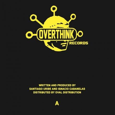 "( OTH 004 ) Santiago URIBE / CABANELAS - MER SRL EP (12"") Overthink"