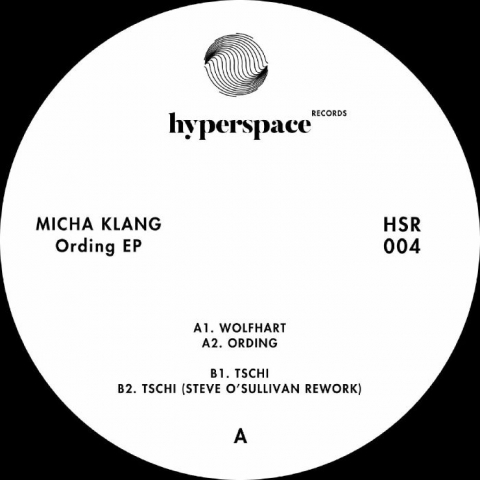 "( HSR 004 ) Micha KLANG - Ording EP (12"") Hyperspace US"