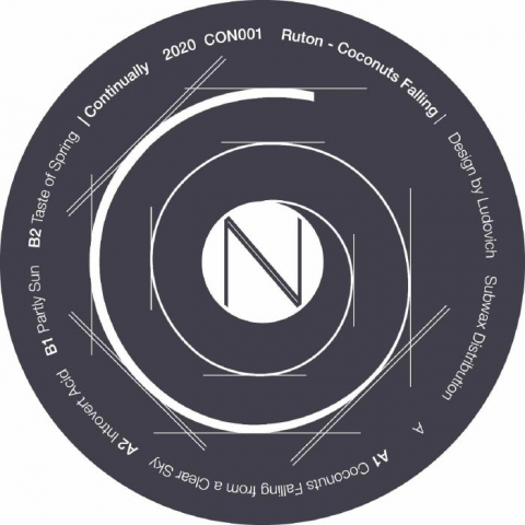 "( CON 001 ) RUTON - Coconuts Falling (12"") Continually Norway"