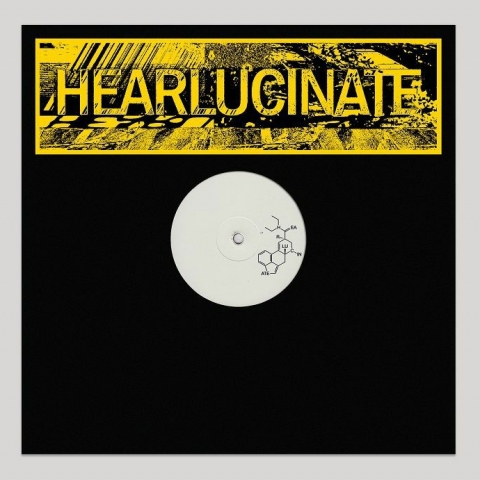 "( HEARLUCINATE 002 ) RON OBVIOUS / TRISTAN DA CUNHA/  FREAKENSTEIN - HEARLUCINATE 002 (Bum Jump/Tushy mix) (180 gram vinyl 12"")  Hearlucinate"