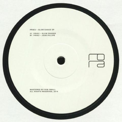 """( RORA 019 ) PRIKU - Slow Dance EP (180 gram vinyl 12"""") Rora Switzerland"""