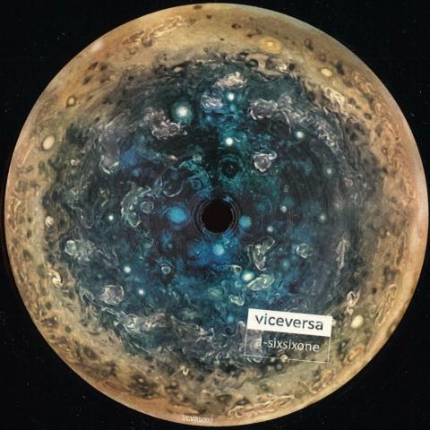 "( VCVRS 007 )  VICEVERSA - Sixsixone (12"") - Viceversa Italy"