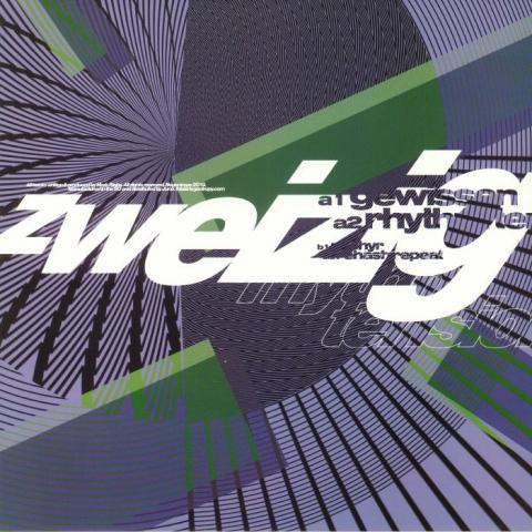 """ZWEIZIG - Rhythm Tension (140 gram vinyl 12"""") Negentropy"""