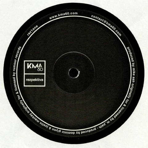 "(  REZ 1ONE ) Mike ASH / MIND CONTROL - REZ1one EP (hand-stamped 12"") KMA60 Rezpektiva Germany"