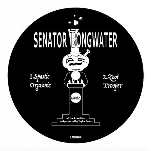 """( LMK 004 ) SENATOR BONGWATER / SEAFOAM - Senator Bongwater Vs Seafoam (12"""") LEMAK US"""