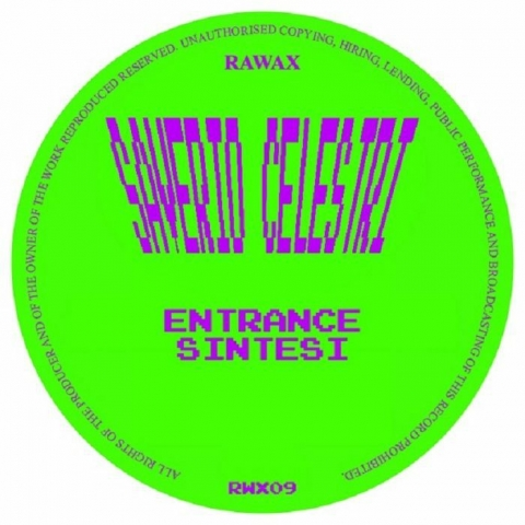 "( RWX 09 ) PLANETERS / SAVERIO CELESTRI - Area (12"") Rawax Germany"