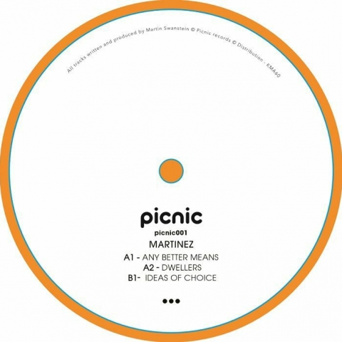 "( PICNIC 001 ) MARTINEZ - Picnic 001 (12"") Pic Nic"