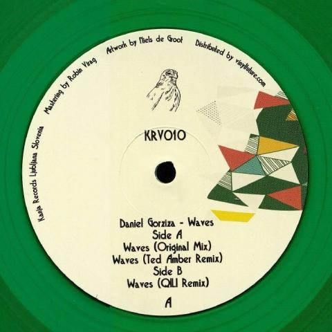 "( KRV 010 ) Daniel GORZIZA - Waves (transparent green vinyl 12"") Kanja"