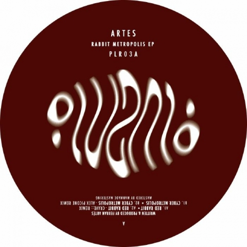 """( PLR 003A ) ARTES -  Rabbit Metropolis EP (12"""" limited to 250 copies) Plural Spain"""