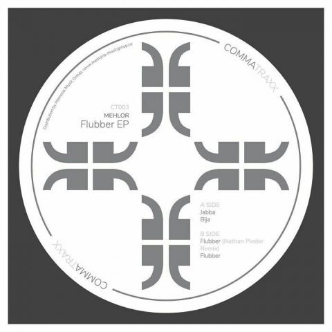 """( CT 003V ) MEHLOR - Flubber EP (white vinyl 12"""") Comma Traxx"""