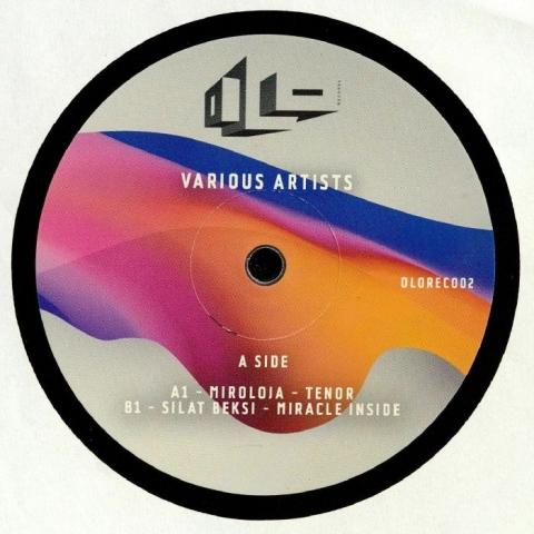 "( OLOREC 002 ) MIROLOJA / SILAT BEKSI / OLIVIAN NOUR / PARADOXAL - OLOREC 002 (heavyweight vinyl 12"") Olo France"