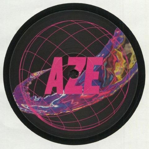 """(  AZE 04 ) John HUT - Structures (12"""") Aze France"""