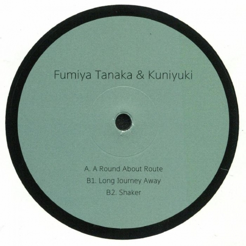 "( snd 009 )  Fumiya TANAKA / KUNIYUKI - A Round About Route (12"") Sundance"