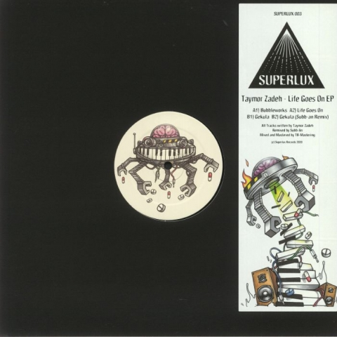"( SPLX 3 ) Taymor ZADEH - Life Goes On EP (12"") Superlux"