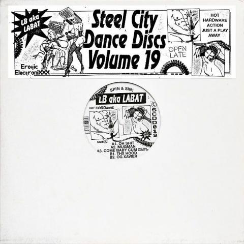 "( SCDD 019 ) LB aka LABAT - Steel City Dance Discs Volume 19 (12"") Steel City Dance Discs"