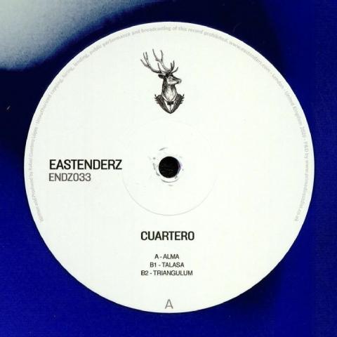 "( ENDZ 033 ) CUARTERO - ENDZ 033 (coloured vinyl 12"") Eastenderz"