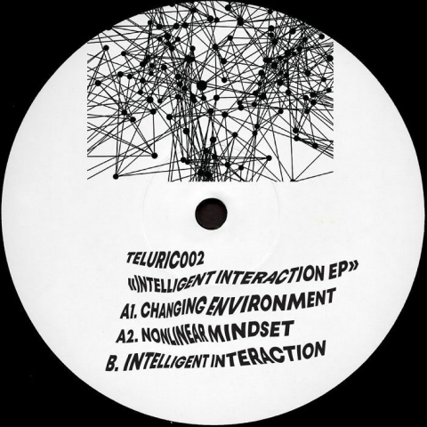 "( TELURIC 002 ) TELURIC - Intelligent Interaction (12"") Self Release"