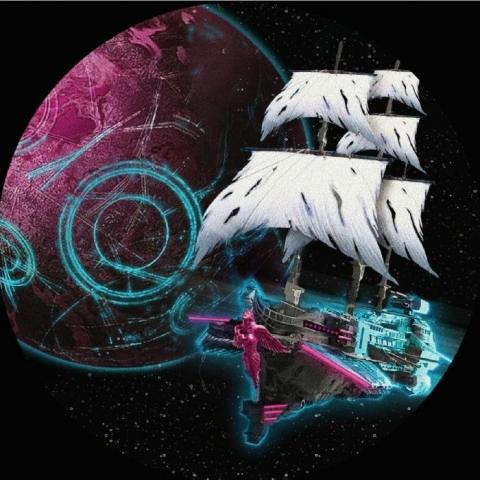 "( POO 004 ) PACIFIC JAMS - Pleiadi EP (12"") Path Of Orbit Italy"