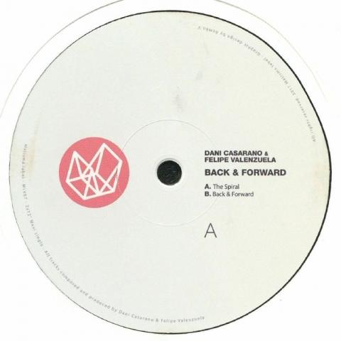 ( MLV 07 ) Dani CASARANO / FELIPE VALENZUELA - Back & Forward (2xLP) Melisma Limited