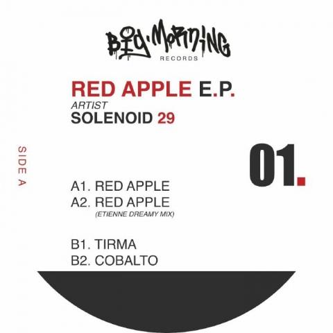 "( BIGMORNING 01 ) SOLENOID 29 - Red Apple EP (180 gram vinyl 12"") Big Morning Spain"