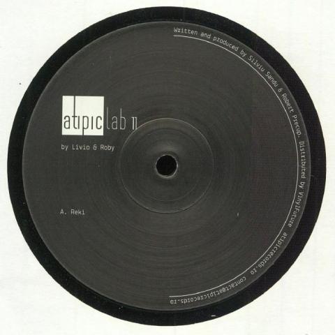 """( ATIPICLAB 011 ) LIVIO & ROBY - ATIPICLAB 011 (12"""") Atipic Romania"""