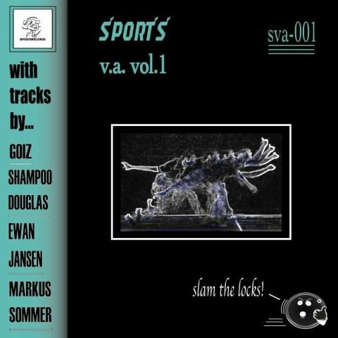 "( SVA 001) GOIZ, SHAMPOO DOUGLAS, EWAN JANSEN, MARKUS SOMMER - Sports Various Artists 01 EP (12"") Sports Records"