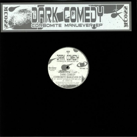 "(  MC 022 ) DARK COMEDY aka KENNY LARKIN Corbomite Manuever EP (reissue  double 12"") Mint Condition UK"
