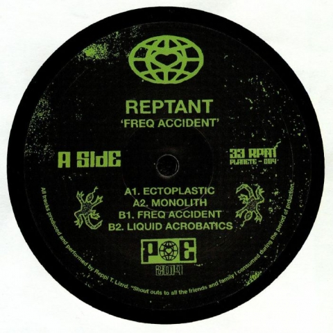 "( PE 004 ) REPTANT - Freq Accident (heavyweight vinyl 12"") Planet Euphorique"