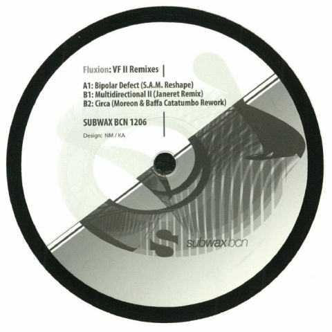 "( SUBWAXBCN 1206 ) FLUXION - VF II Remixes (12"") Subwax Bcn Spain"
