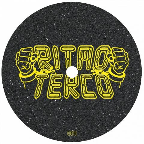 "( RT 001 ) RUSH CITY / HANDEREK - Cosmic Vibrations ( 12"" Vinyl ) Ritmo Terco Records"