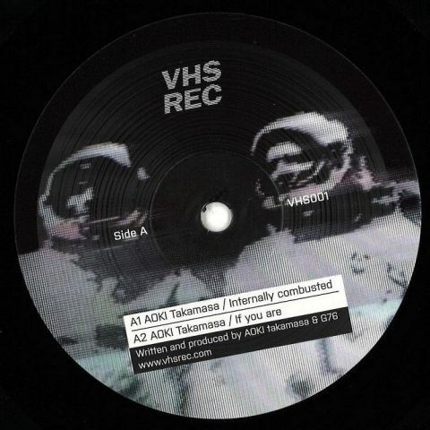 "( VHS 001 ) Aoki TAKAMASA - Internally Combusted (12"") VHS"