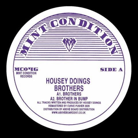 "( MC 046 ) HOUSEY DOINGS - Brothers (12"") Mint Condition"