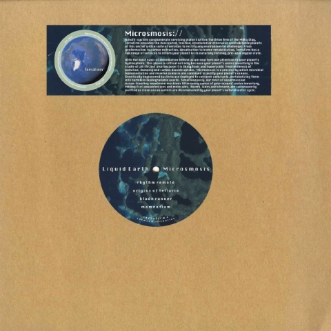 "(  TERRAFIRM 4 ) LIQUID EARTH - Microsmosis (12"") TerraFirm Spain"
